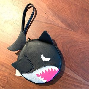 Betsey Johnson Shark Coin Purse